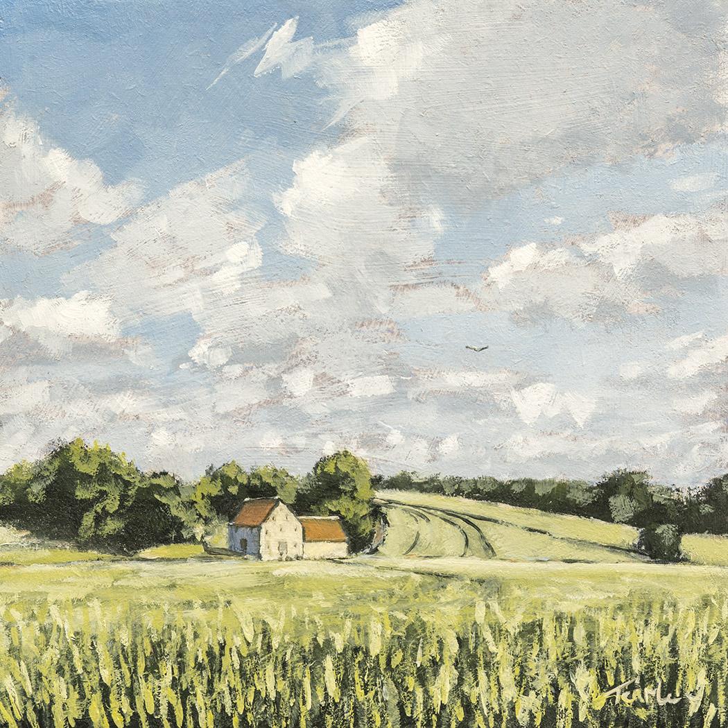 Barn near Helpston - Nick Tearle Fenland Artist