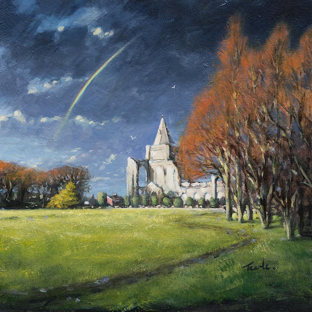 Crowland Abbey - Nick Tearle Fenland Artist
