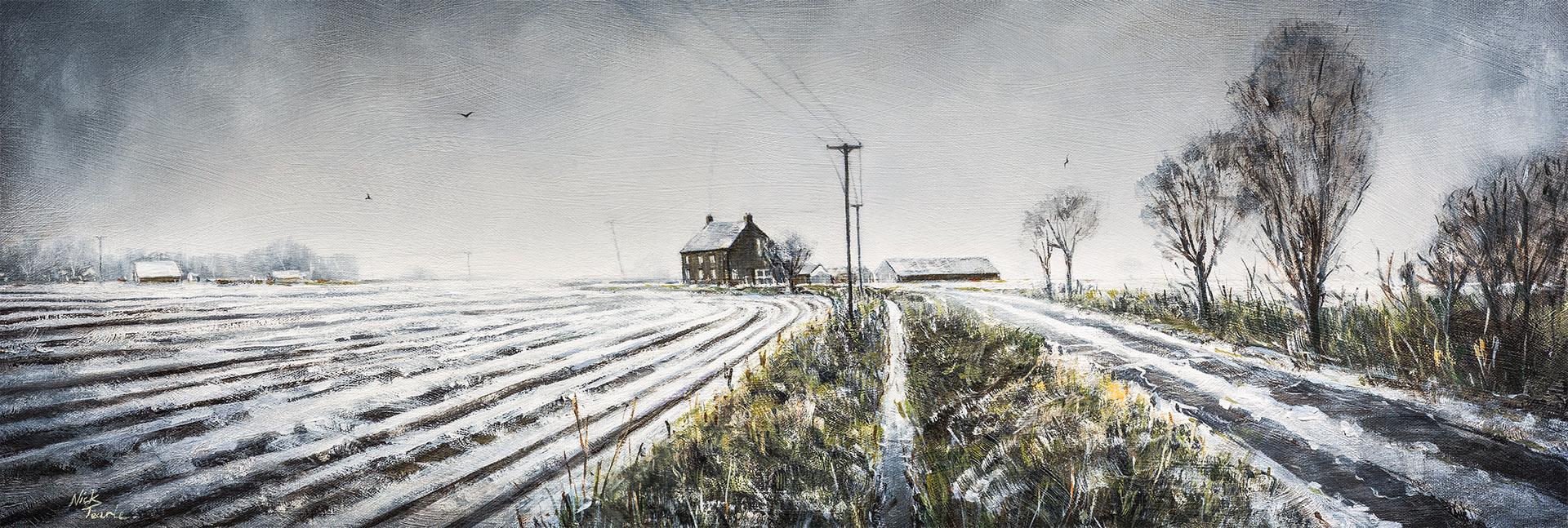 Inkerton Fen - Nick Tearle Fenland Artist
