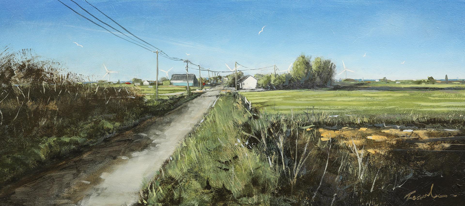 Langtoft Fen - Nick Tearle Fenland Artist
