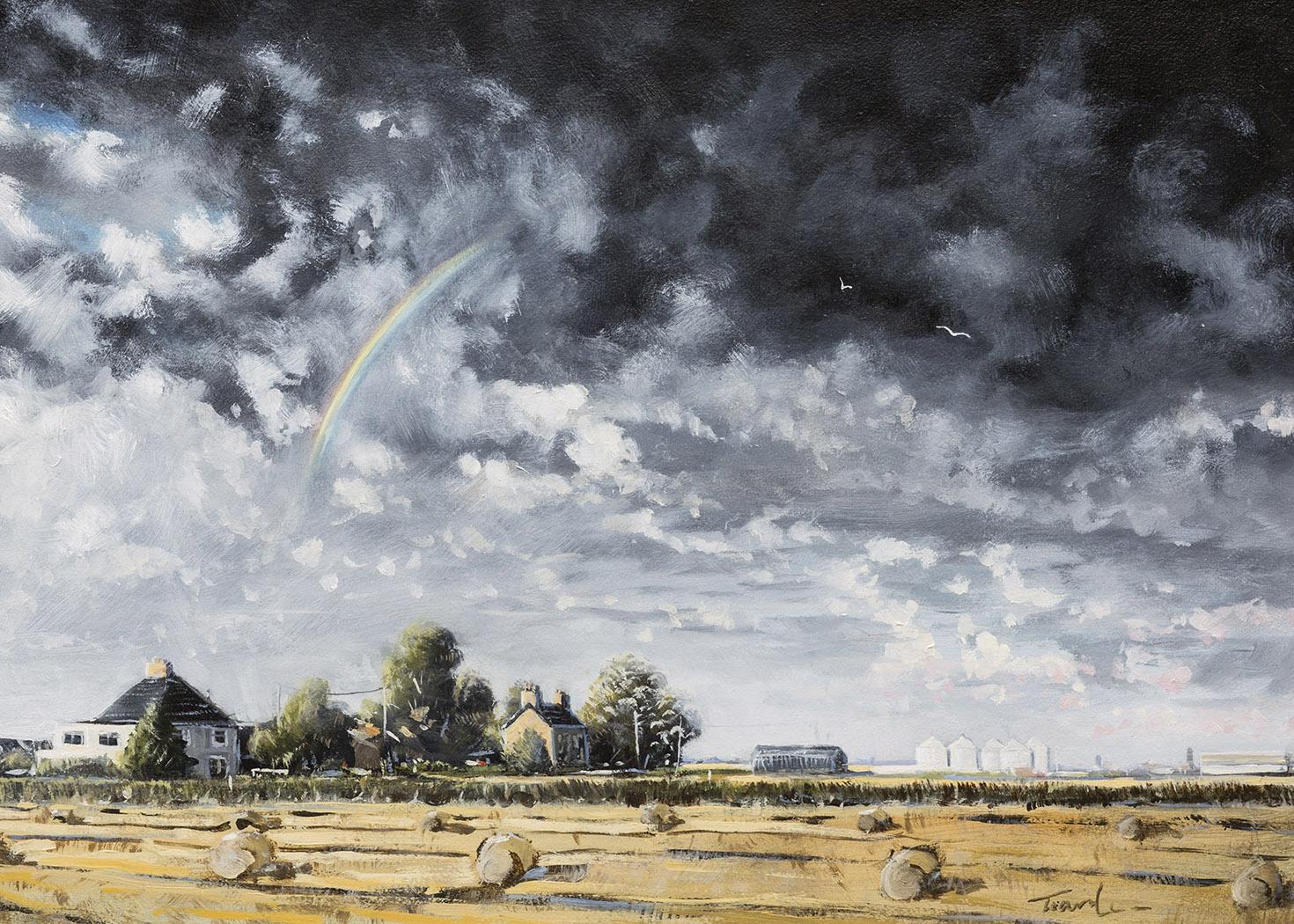 Morton Fen - Nick Tearle Fenland Artist