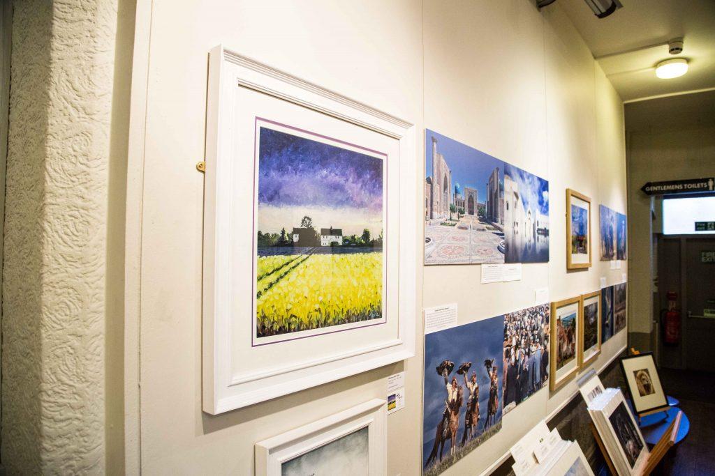 Artwork including paintings by Nick Tearle Fenland Artist