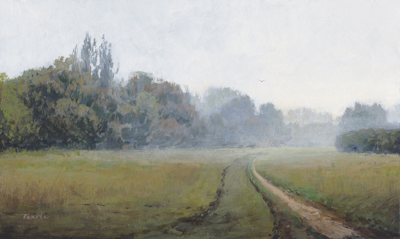 Morning Mist Nick Tearle Fenland Artist